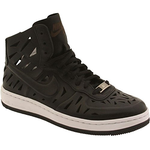 Nike - W Af1 Ultra Force Mid Joli, Scarpe sportive Donna Nero / Nero-Bianco)