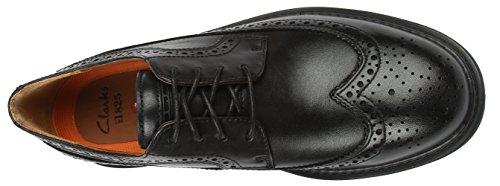 Clarks  Un Limit, chaussures basses à lacets homme Noir - Noir