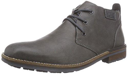 Rieker B1340 - Stivali Desert Boots Uomo, Grigio (rauch/granit / 48), 42 EU