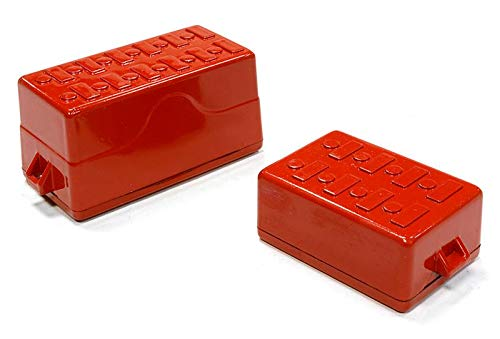 Integy RC Model Hop-ups C25968RED Realistic Scale Model Tool Boxes 1/10 Size -
