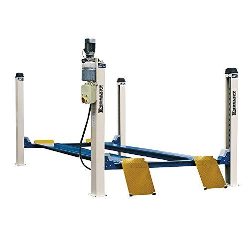 Puente elevador para coche 4Columnas electrohidráulico 4200kg zavagli Z31