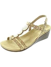 Vionic Park Noleen - Sandalias de vestir de sintético para mujer marrón marrón