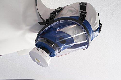 RESTPOSTEN Atemschutzmaske Atemmaske Vollmaske Klasse 2 EN 136 Rundgewindeanschluss Rd40 Normaldruckausführung - 3