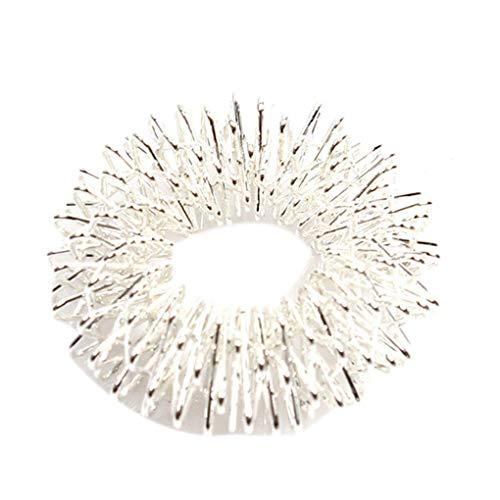 Karpaltunnel-taubheit (Timlatte Hand-Massage Ring Mini Frühling Zehen Hand-Massage Ring Fidget Sinnes Spielzeug streßvermindernde Relaxing)