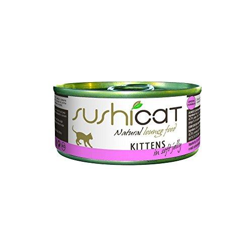 SUSHICAT mousse de gelatina para gatitos 70 g - Comida mojado de gatos