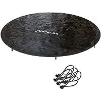 Ampel 24 - Housse de protection pour trampoline Ø305cm / Bâche avec écoulement d'eau central