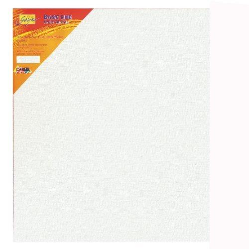 Kreul 63040 - Solo Goya Keilrahmen Stretched Canvas Basic Line, ca. 30 x 40 cm, 4 fach grundiert, für Öl-, Acryl- und Gouachefarben - Fach 30x30