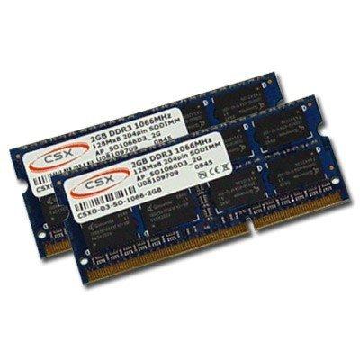2x 2GB = 4GB CSX DDR3 RAM PC3-8500 1066 MHz für MacBook/Pro, iMac, MacMini -