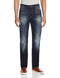 Pepe Jeans Mens Holborne Anthony Regular Fit Jeans (8903872566440_ANTHONY-HFAD BLK36_36W X 34L_Fad Black)