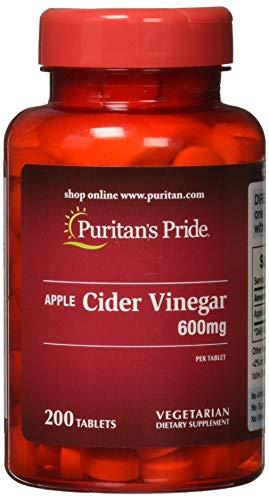 Apfelessig 600mg - Apple Cider Vinegar - 200 Tabletten