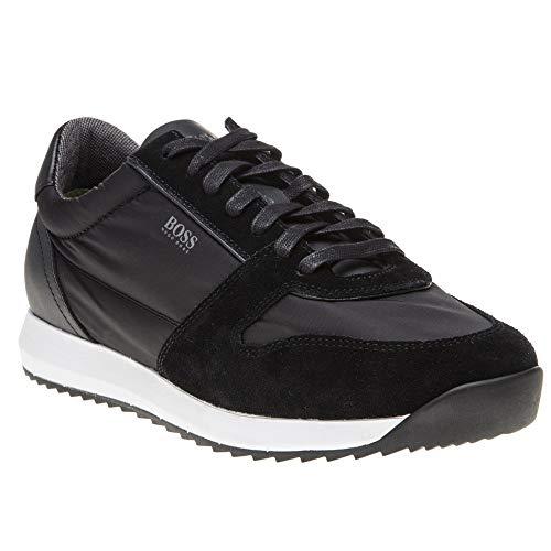 Boss Schuhe Shoe Sneakers Sonic_Runn_tech 10214371 EU 44 (Hugo Boss Schuhe Herren Schwarz)