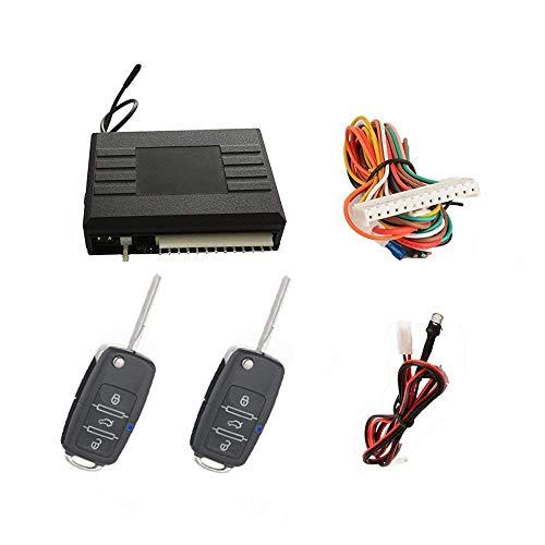 SLPRO Keyless Open, Funkfernbedienung für vorhandene Original-Zentralverriegelung, universal mit 2 Klappschlüsselsender