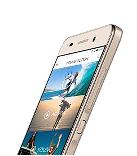 Ginger G5002 Jupiter Dual SIM Mobile 5 inch IPS QHD Screen Android 5.1 Lollipop OS with 2 GB RAM and 16 GB Internal Memory Front Facing and Rear Camera (Gold)