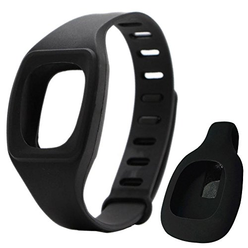Fitbit ZIP HopCentury reemplazo muñequera pulsera dinámicos oliviasphones para Fitbit ZIP acabijo Negro negro
