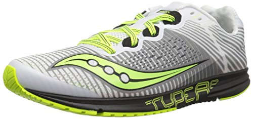Saucony Men Type A8 Competition Running Shoe Running Shoes White - Black 8