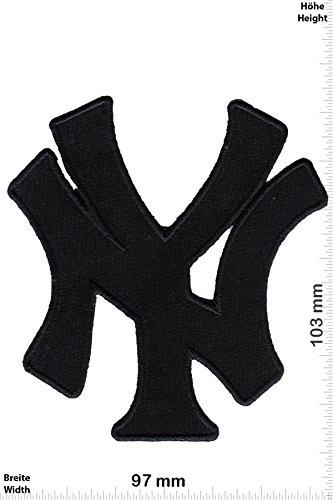 Yankees - black - Major-League-Baseball-Team - MLB - Motorsport - Sport - Sport USA - - Iron On Patches - Aufnäher Embleme Bügelbild Aufbügler ()