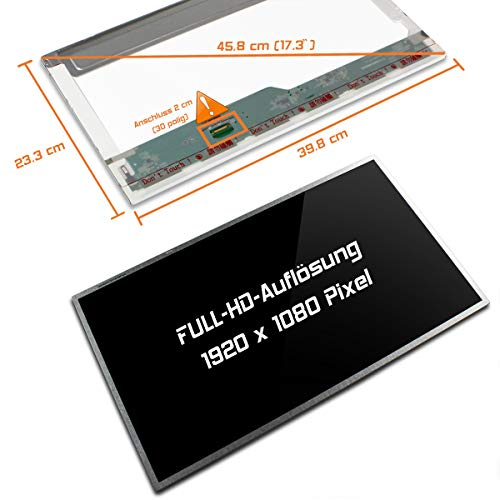 "Laptiptop 17,3"" LED Display Screen Glossy Ersatz für Acer Aspire E17 E5-771-323D 1920x1080 Bildschirm Panel"