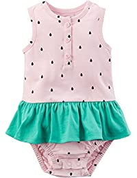 Carter Baby Girls Watermelon Sunsuit 6 Months