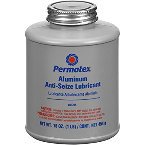 Permatex 230-80208 # 767 Anti-Seize Schmiermittel 1 Lb Pinsel Top Flasche
