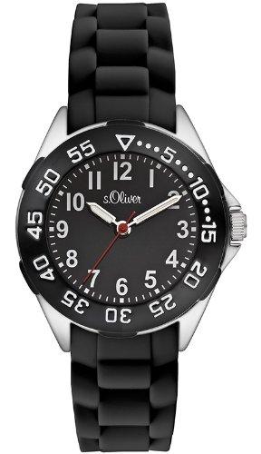 s.Oliver Jungen-Armbanduhr Analog Quarz Silikon