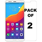 MobiExpress 9H Hard Edge to Edge Anti Scratch Dust Proof Tempered Glass for Xiaomi Redmi Y2 -Combo Pack of 2