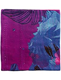 Desigual Damen Schal FOULARD_COREL Rectangle, Rot (Purple Potion 3070), One Size (Herstellergröße: U)