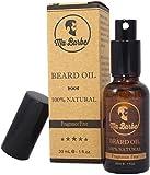 Olio di Barba Premium 100% NATURALE, senza profumo. Con uno spray! Nutre, idrata, ammorbidisce, e stimola la crescita e brillare. Miscela di 8 olii benefattori organici. Perfetto per pelli sensibili