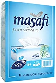 Masafi Tissue White 150 X 2 ply (5 Units)