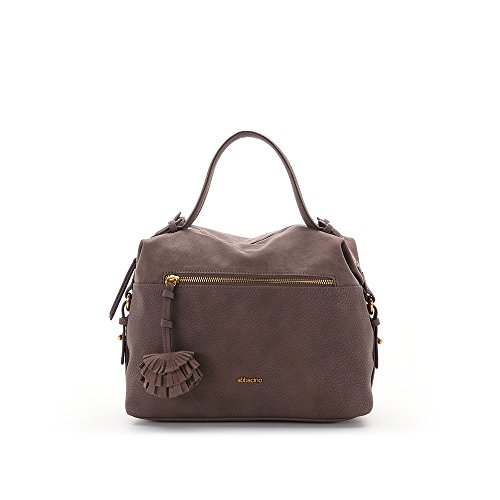 Abbacino - Lauren, borsa Donna Marrone (Brown)