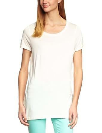 Vero Moda Joy Top Women's T-Shirt White - Weiß (SNOW WHITE) X-Small