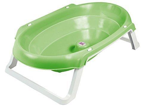 Bebé Due Onda Slim - Bañera plegable, color verde