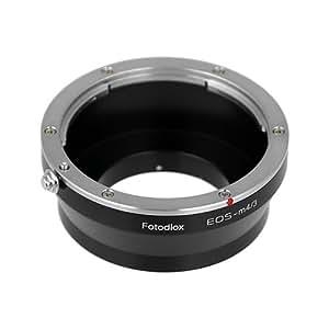 Fotodiox Adaptateur de monture d'objectif pour Objectif Canon EOS EF/ EF-S à Caméra Numérique sans Miroir -Mirrorless Digital Camera  Système Micro Four Thirds -MFT/ Micro 4/3  comme Panasonic Lumix G DMC-GH4 et Black Magic Pocket Cinema Camera