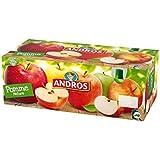 Andros gourdes pomme nature 40x90g Envoi Rapide Et Soignée ( Prix Par Unité )