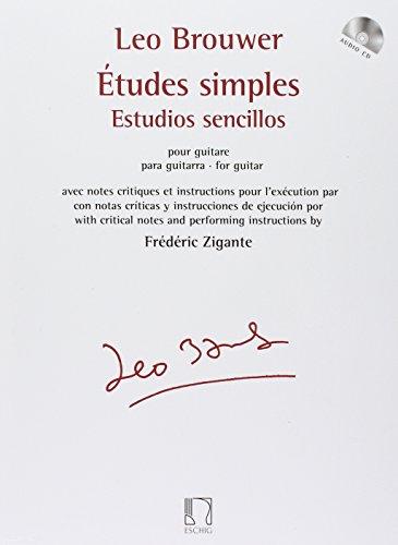 Leo Brouwer: Etudes Simples Pour Guitare