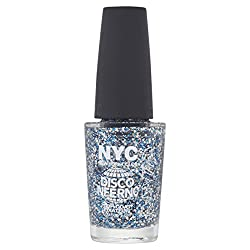 N.Y.C. New York Color Minute Nail Enamel, Disco Inferno, 0.33 Fluid Ounce