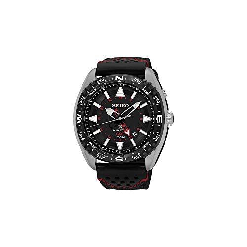 Seiko Herren-Armbanduhr Analog Automatik Leder SUN049P2 - Seiko Bänder Automatik-uhr