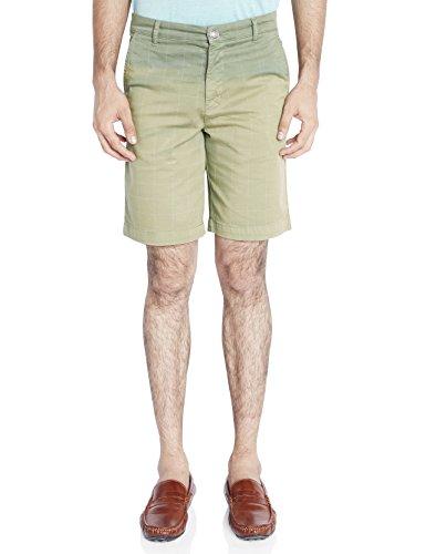 Raymond Medium Green Checkered Men's Short