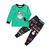 TEBAISE Ugly Weihnachten Pyjama Schlafanzug Familie Weihnachts Xmas Weihnachtspyjama Nachtwäsche Hausanzug Sleepwear Sweater Set Damen Herren Kinder Mädchen Jungen Baby
