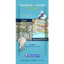 [(Marseille - Cannes Centenary Maps)] [ Michelin Editions Des Voyages ] [January, 2014]