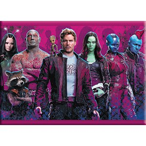 "Preisvergleich Produktbild Guardians of the Galaxy Group Shot, Officially Licensed Original Artwork, MAGNET - 2.5"" x 3.5"""