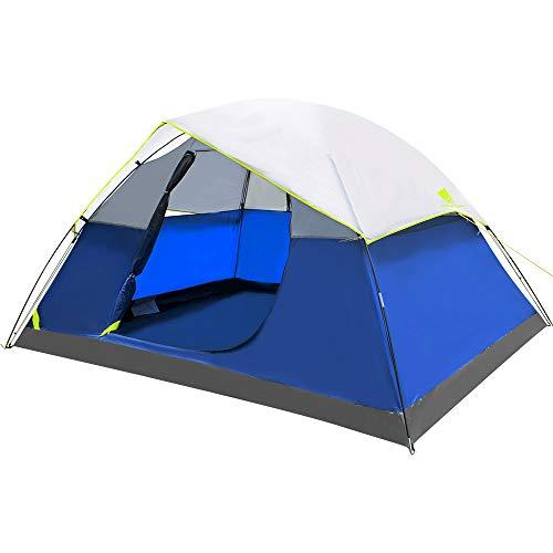 Geertop tenda a cupola portatile da campeggio per 4 persone all'aperto campeggio zaino viaggi