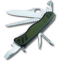 Victorinox - Coltellino Multiuso con Bloccalama - Esercito Svizzero SwissArmy Verde - V-0.8461.MWCH