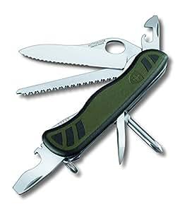 Victorinox 0.8461.MWCH Couteau Soldat Suisse Vert Fonce