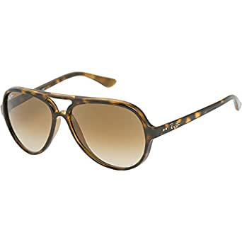 Ray-Ban 4125 710/51 Light Havana CATS 5000 Aviator