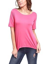 La Isla Del Sol Damen T-Shirt Maglietta Maniche Corte FCS