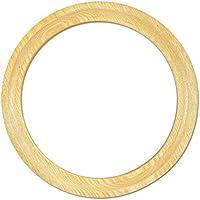Diseño redondo de marco de madera, de madera de fresno de madera maciza, 5