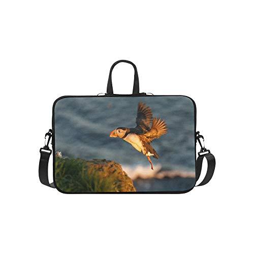 Flying Bird vorbereitet für die Landung auf Muster Aktentasche Laptoptasche Messenger Schulter Arbeitstasche Crossbody Handtasche für Geschäftsreisen -