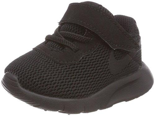 NIKE Unisex Baby Tanjun (Td) Toddler Boys\' Shoe Hausschuhe, Schwarz Black 001, 19.5 EU
