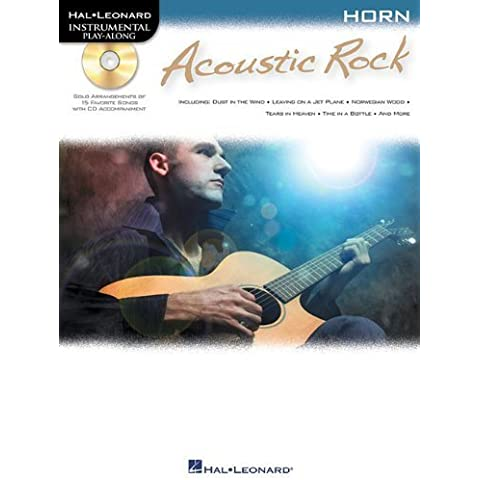 ACOUSTIC ROCK FOR HORN - INSTRUMENTAL PLAY-ALONG CD/PKG by Hal Leonard Corp. (2011) Paperback