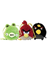Angry Birds Dimensional Backpack - Black Bird
